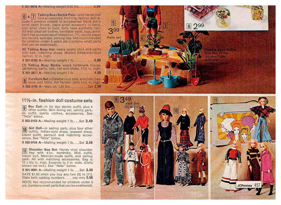 From 1972 JCPenney Christmas catalogue
