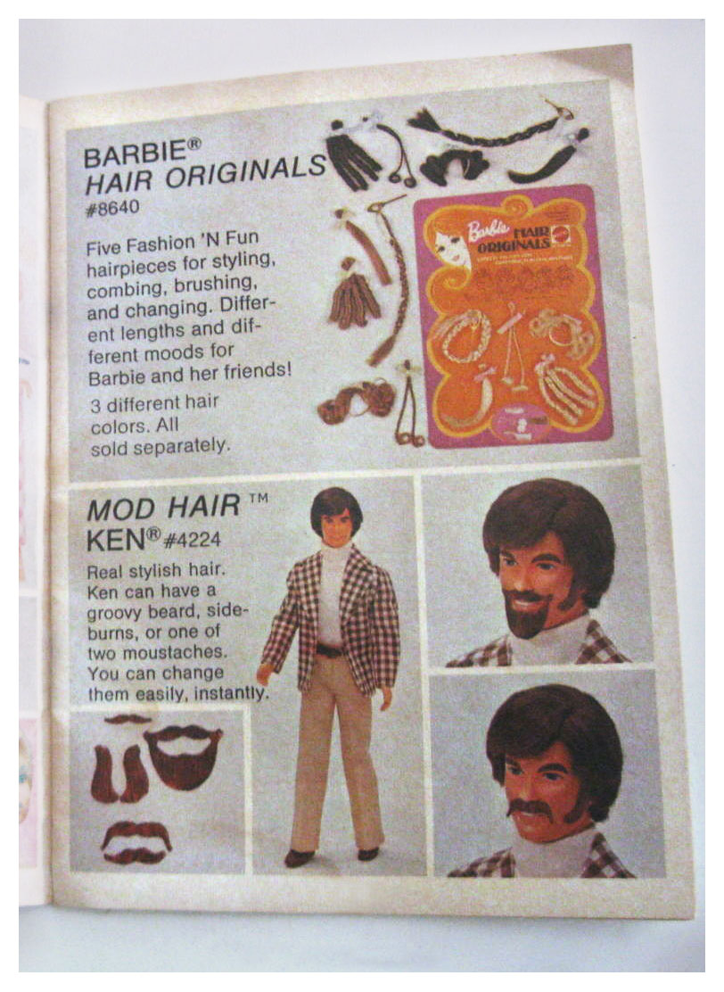 From 1973 The Beautiful World of Barbie booklet