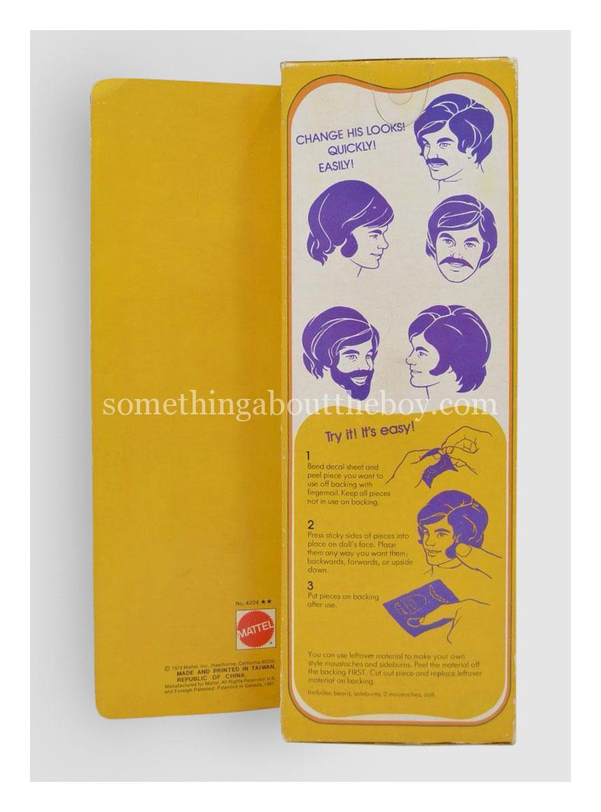 1973 #4224 Mod Hair Ken (Large box version made in Taiwan)
