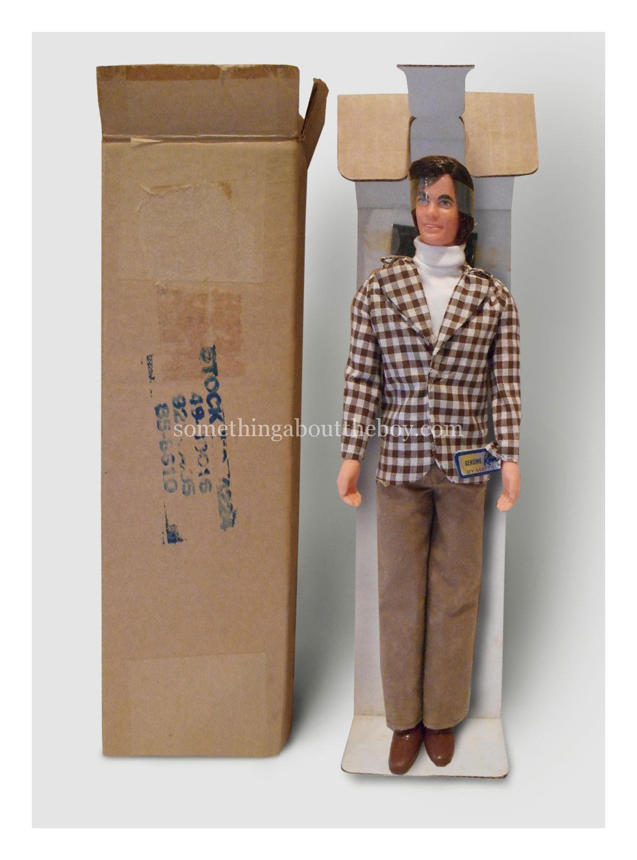 1973 #4224 Mod Hair Ken Mail Order version