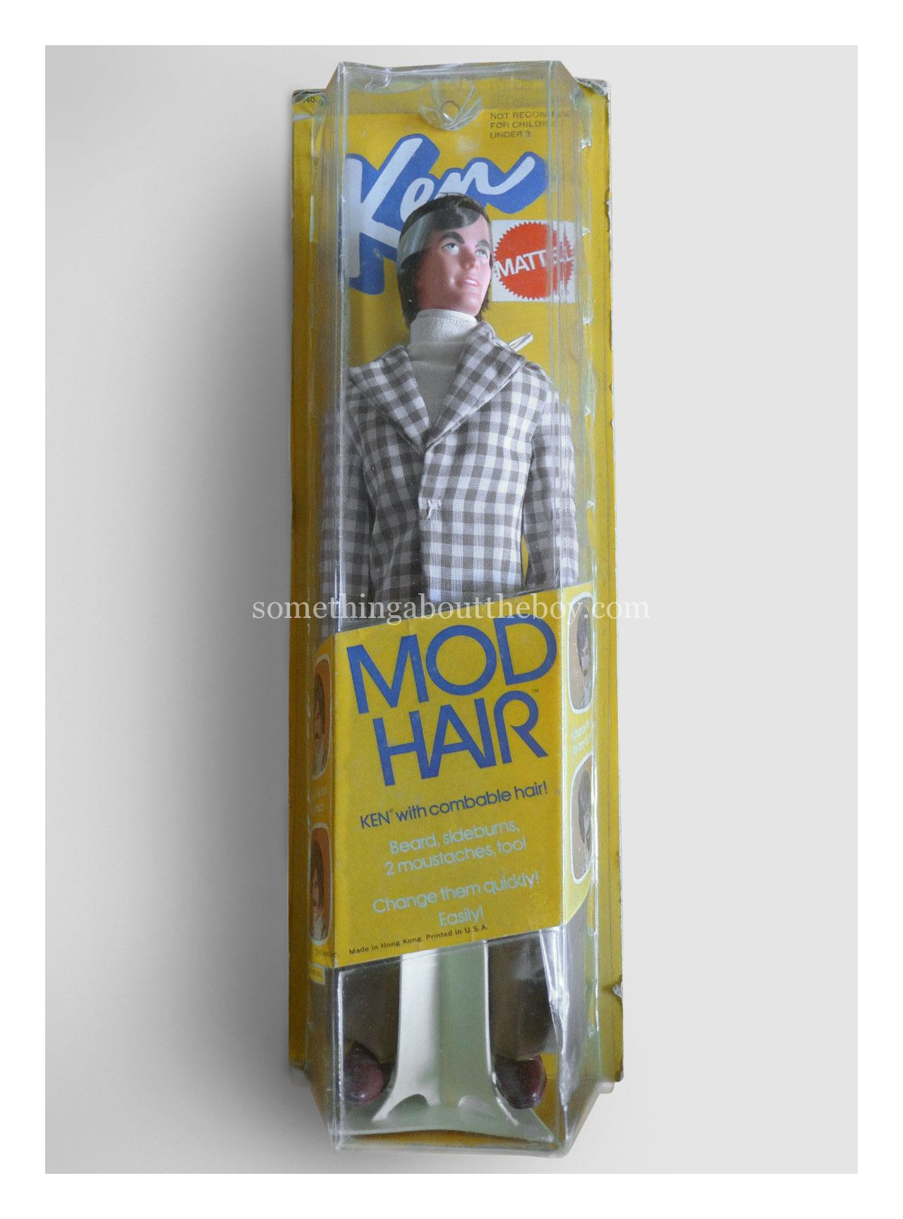 1973 #4224 Mod Hair Ken (Slim packaging made in Hong Kong)