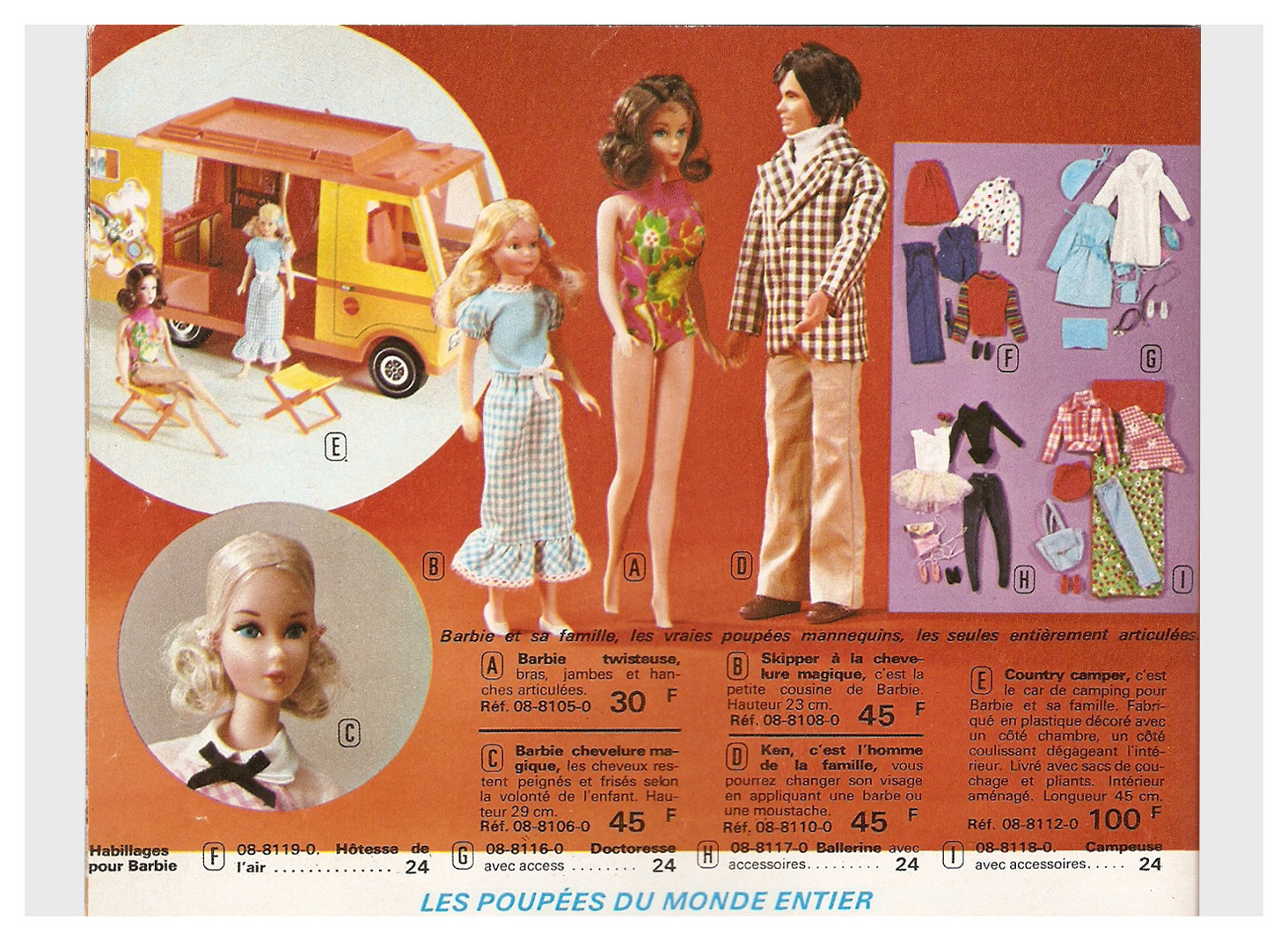 From 1973 French Noël Manufrance catalogue