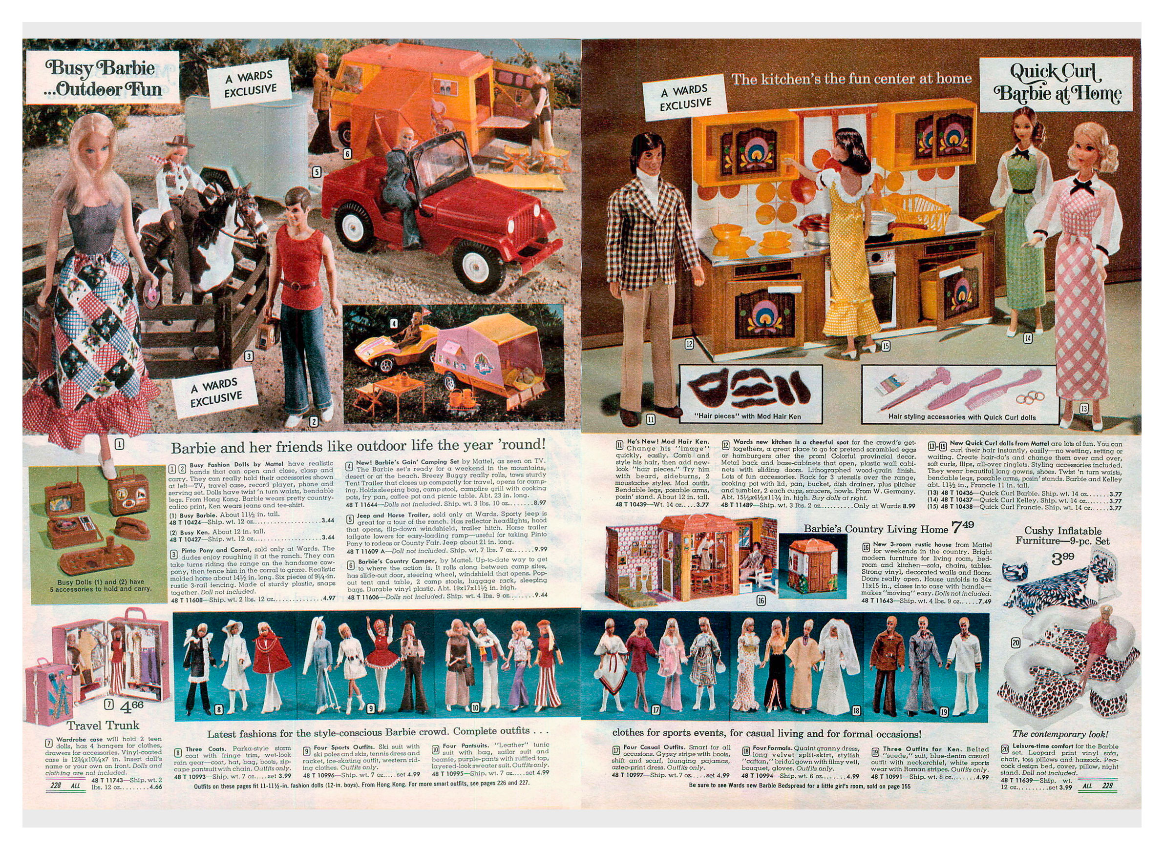 From 1973 Montgomery Ward Christmas catalogue