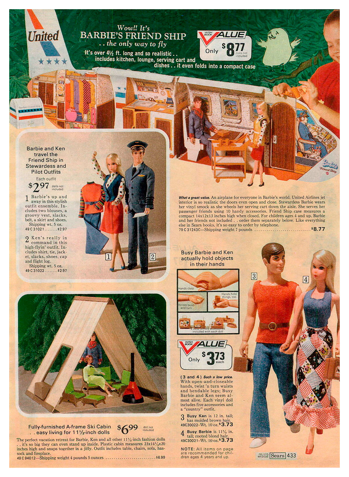 From 1973 Sears Wish Book