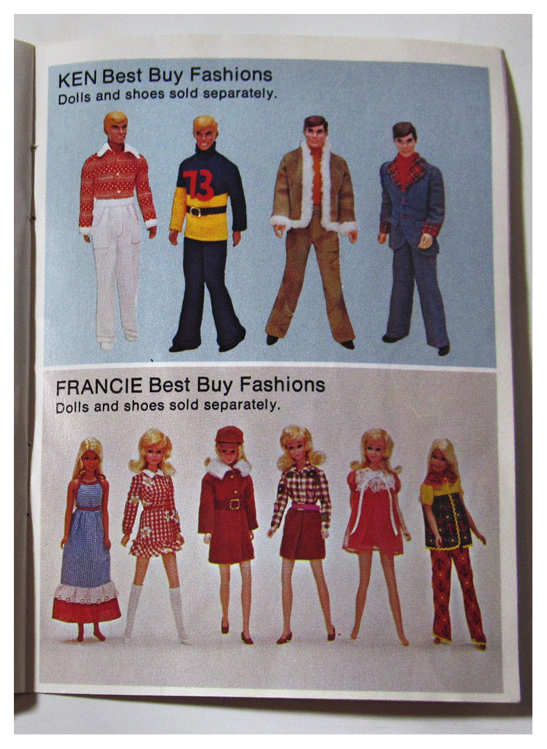 From 1973-4 The World of Barbie booklet