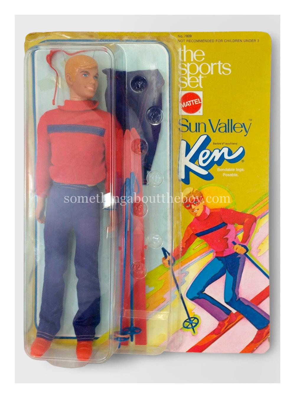 1974 #7809 The Sports Set Sun Valley Ken variation