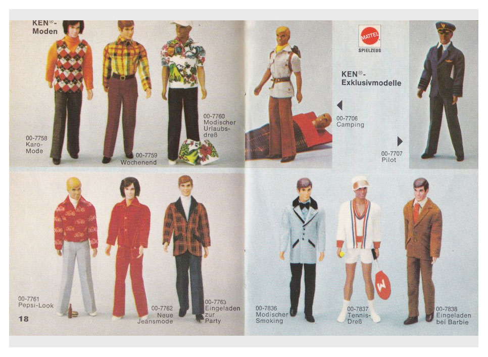 From 1974 German Barbie booklet