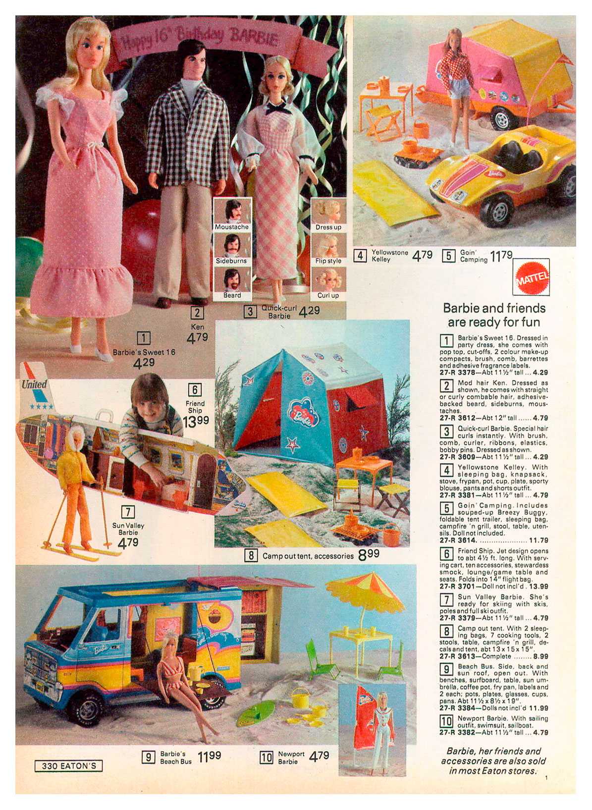 From 1974 Eaton's Christmas catalogue