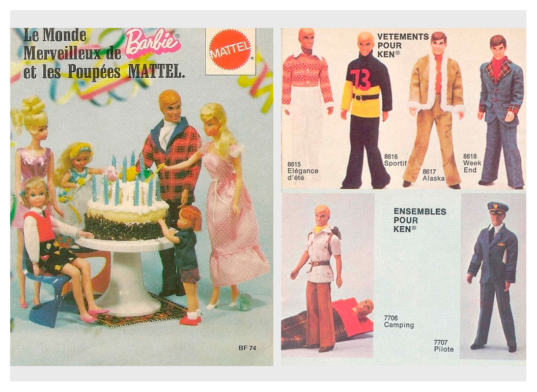 From 1974 French Barbie booklet