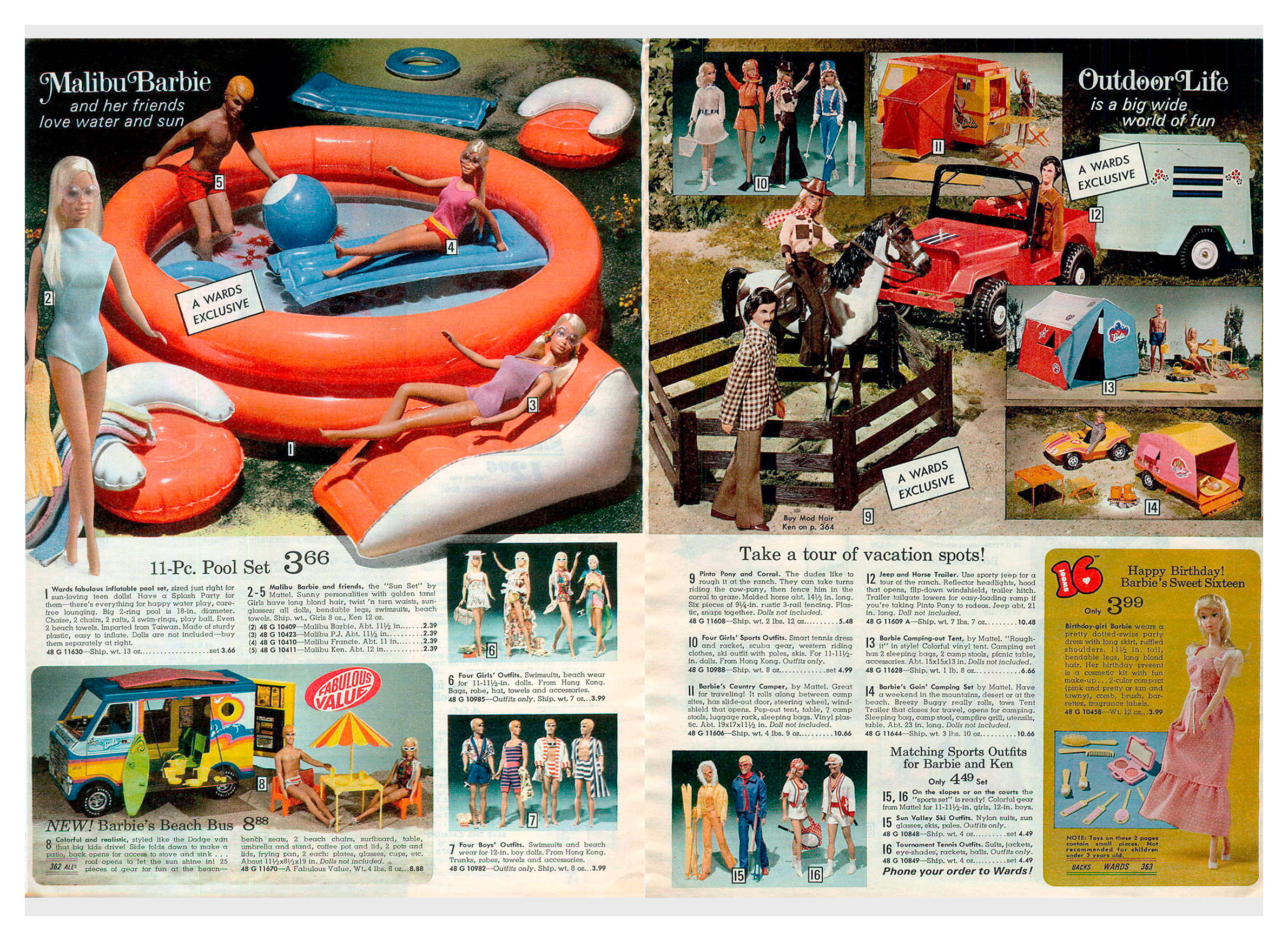 From 1974 Montgomery Ward Christmas catalogue