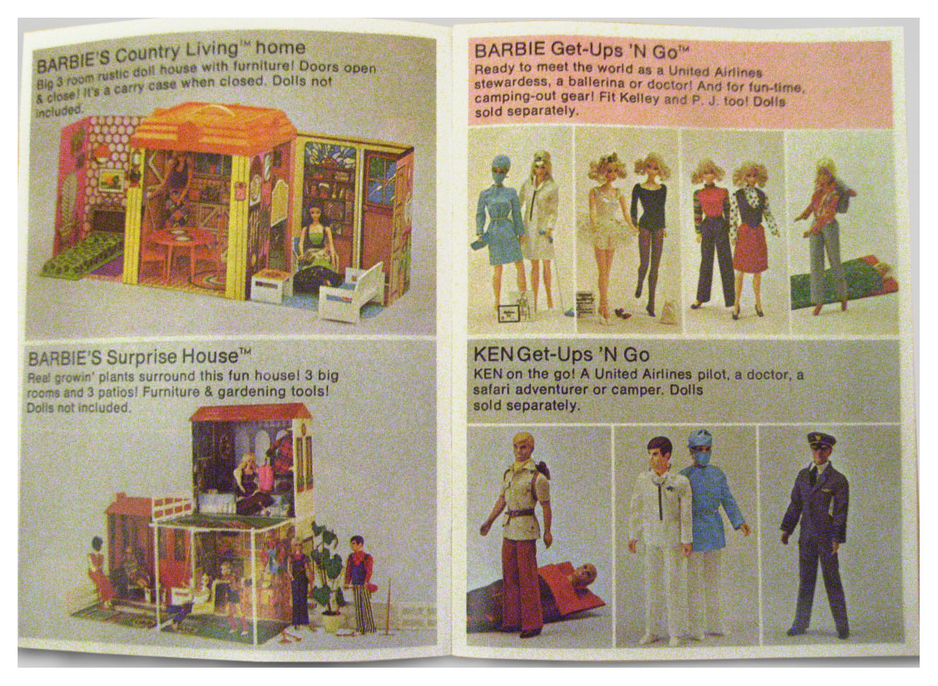 1973-4 World of Barbie booklet