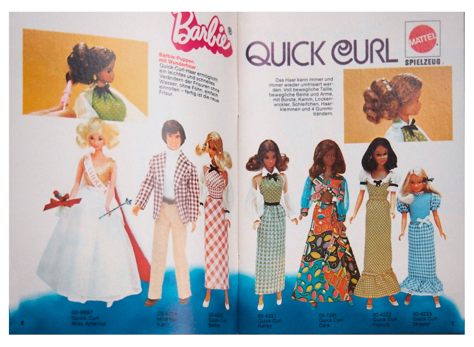 From 1975 German Barbie booklet