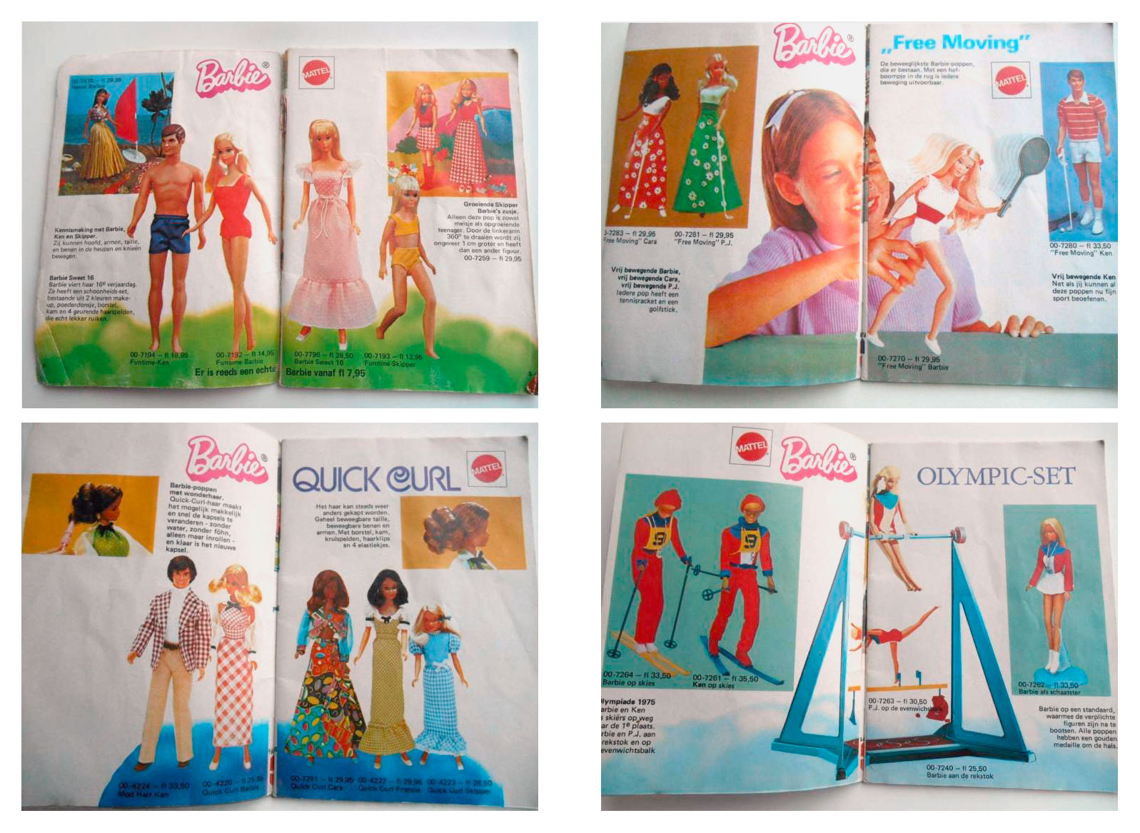 From 1975 Dutch Barbie booklet