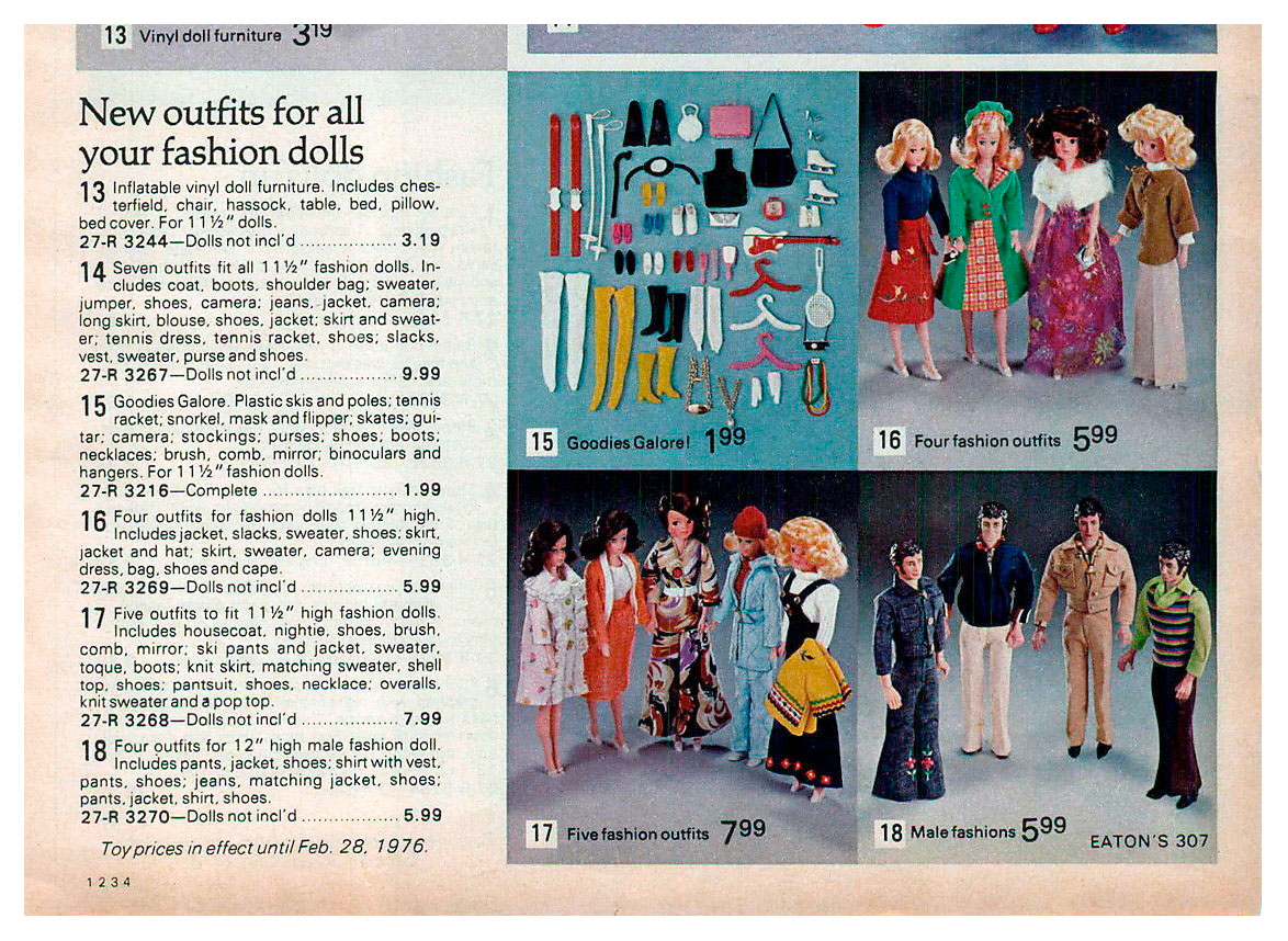 From 1975 Eaton's Christmas catalogue