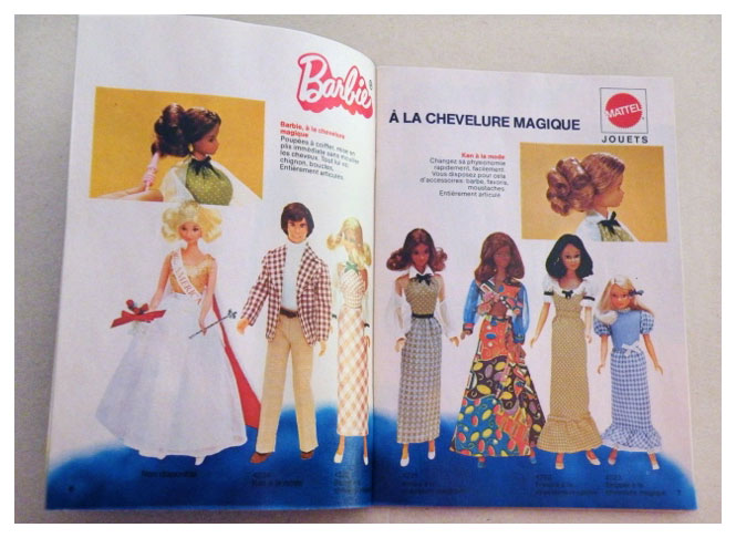 From 1975 French Barbie booklet