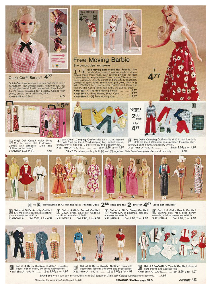 From 1975 JCPenney Christmas catalogue
