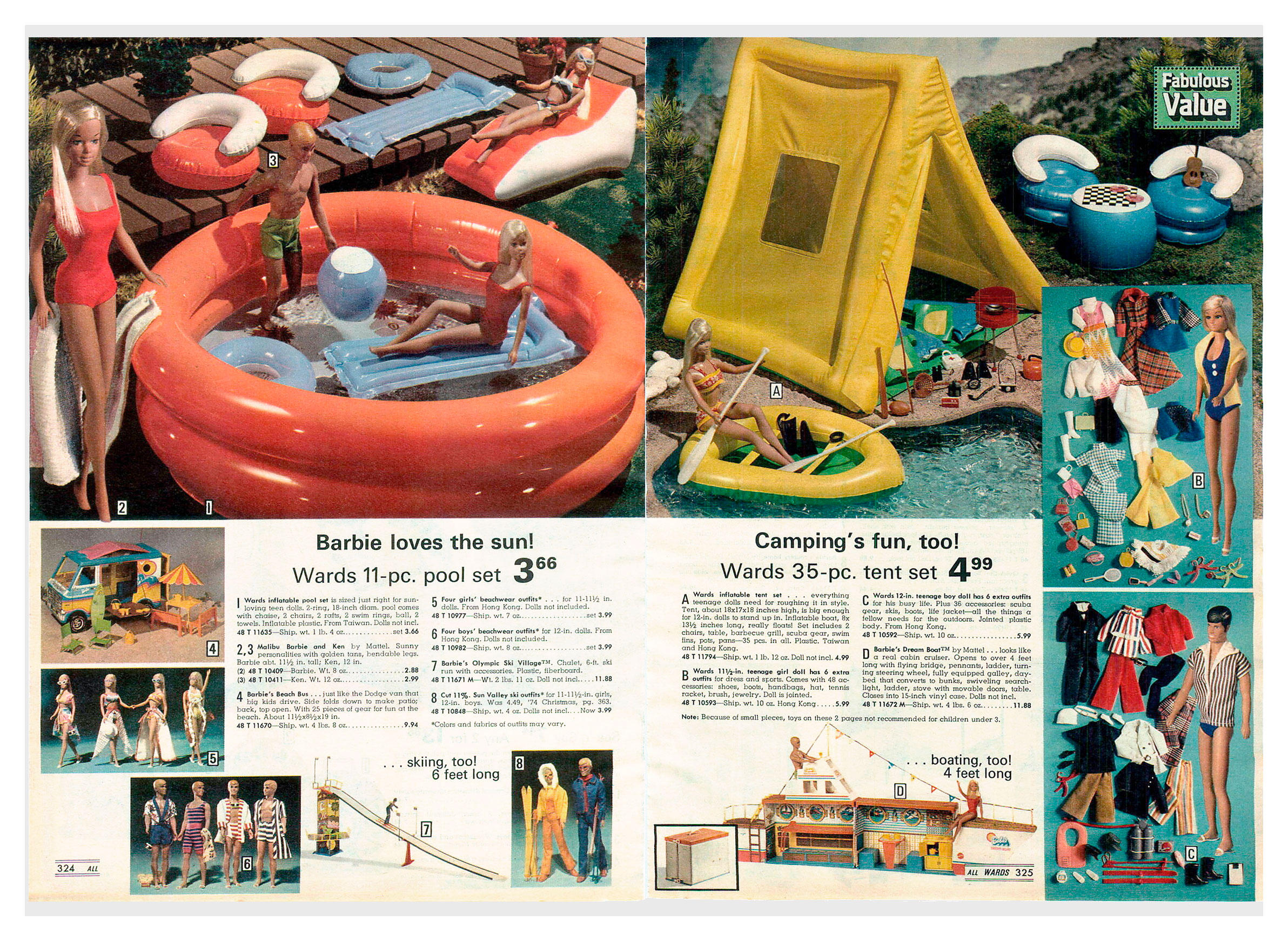 From 1975 Montgomery Ward Christmas catalogue