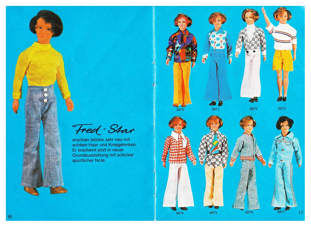 From 1975 Petra & Fred Mode catalogue