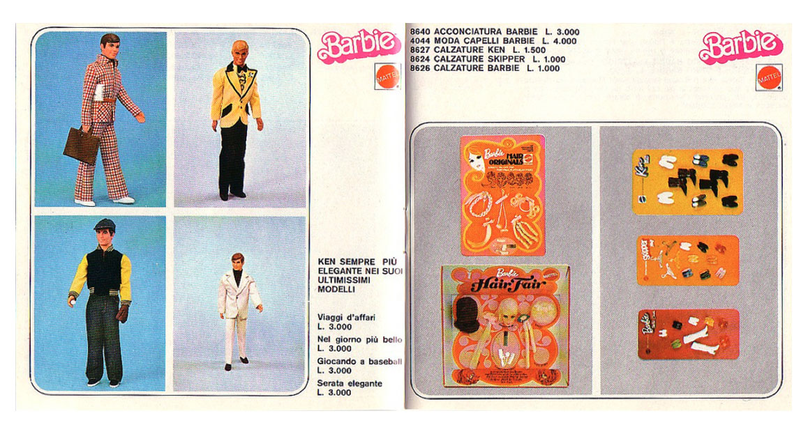 From 1976 Italian Barbie booklet