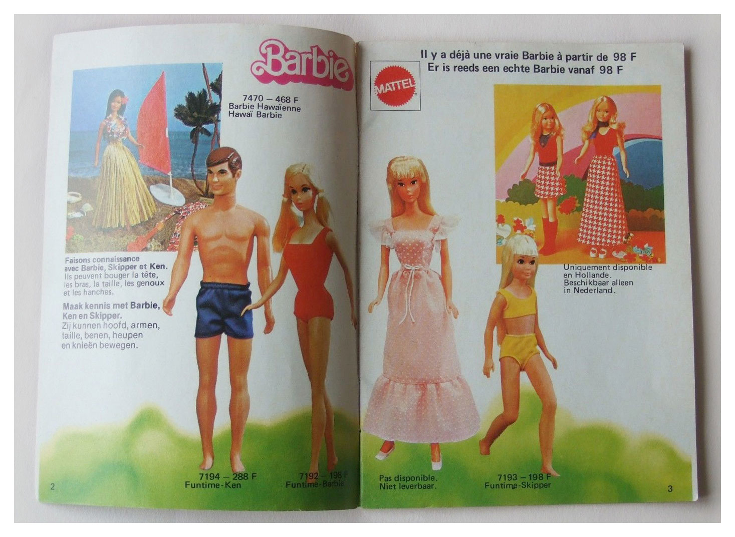 1976 Belgian Barbie booklet
