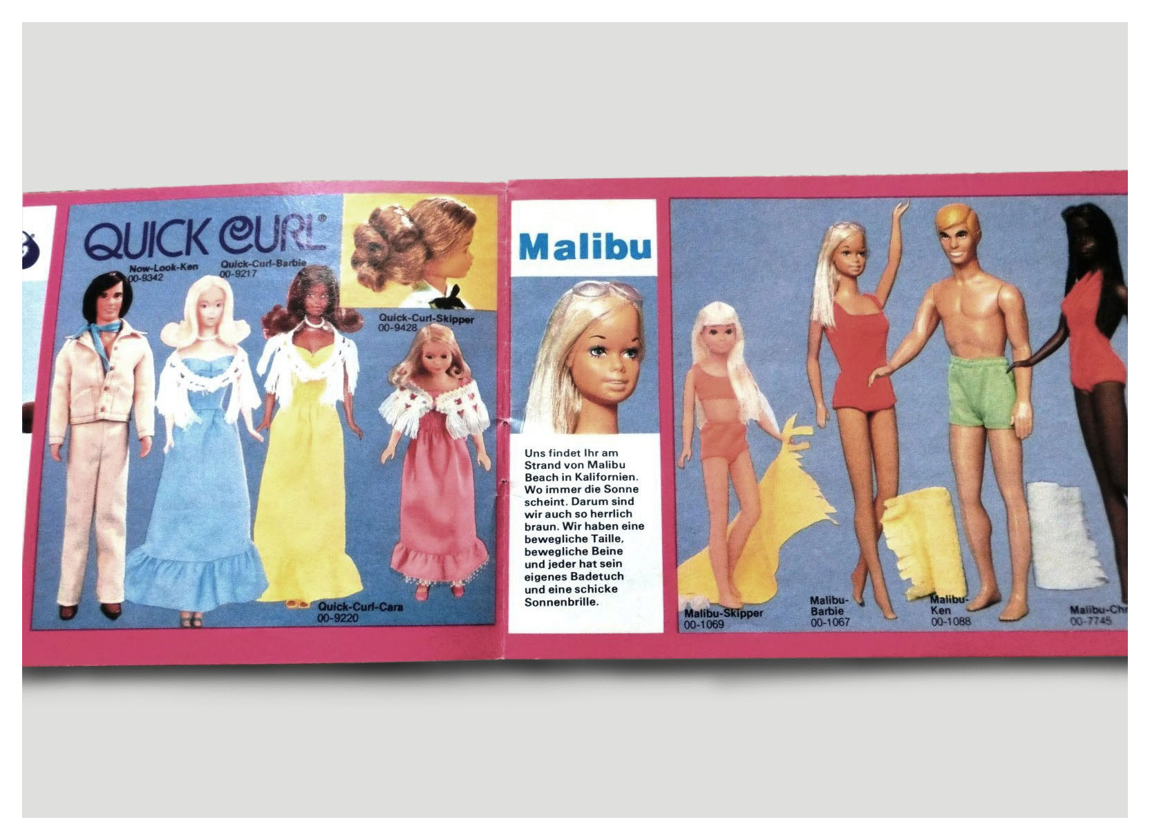 From 1977 German Barbie booklet