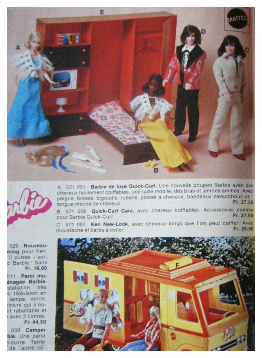 From 1977 French Jouets Weber catalogue