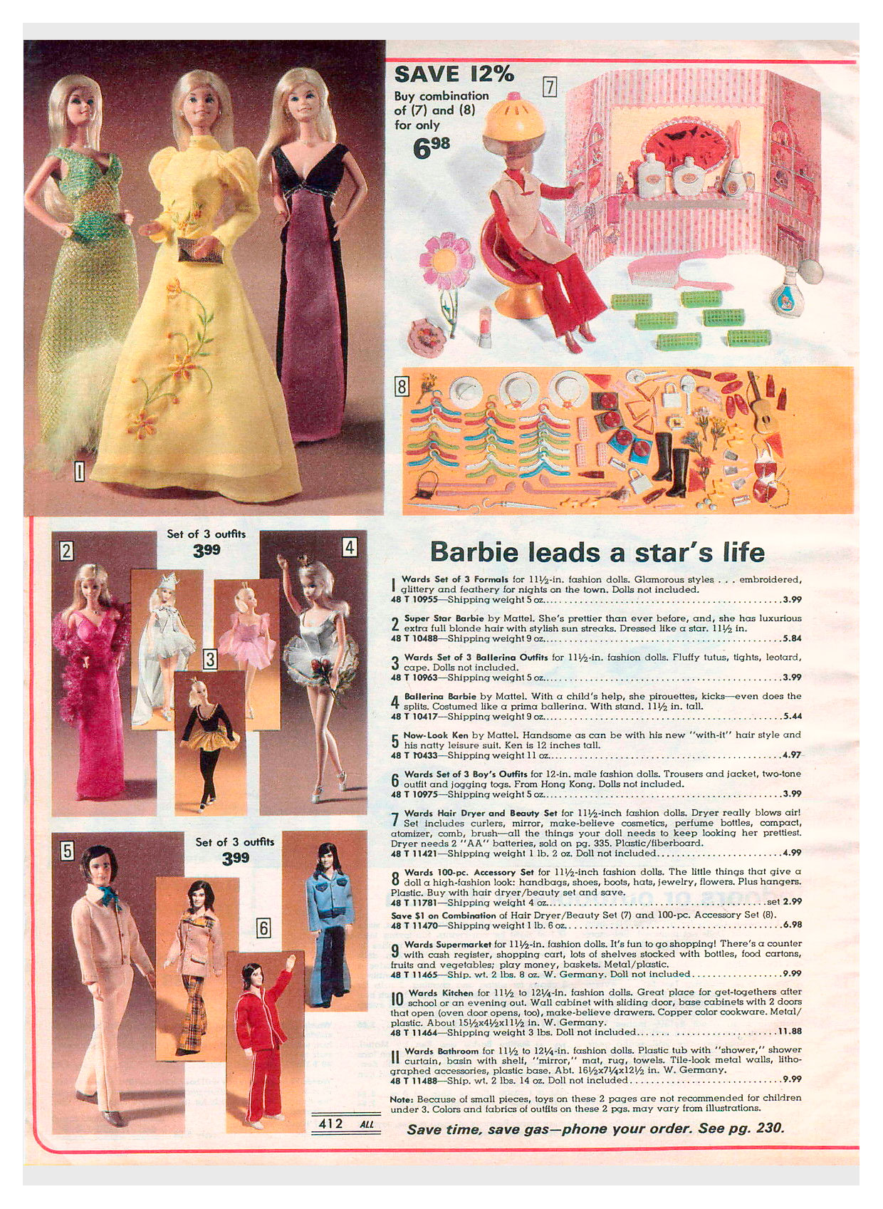 From 1977 Montgomery Ward Christmas catalogue