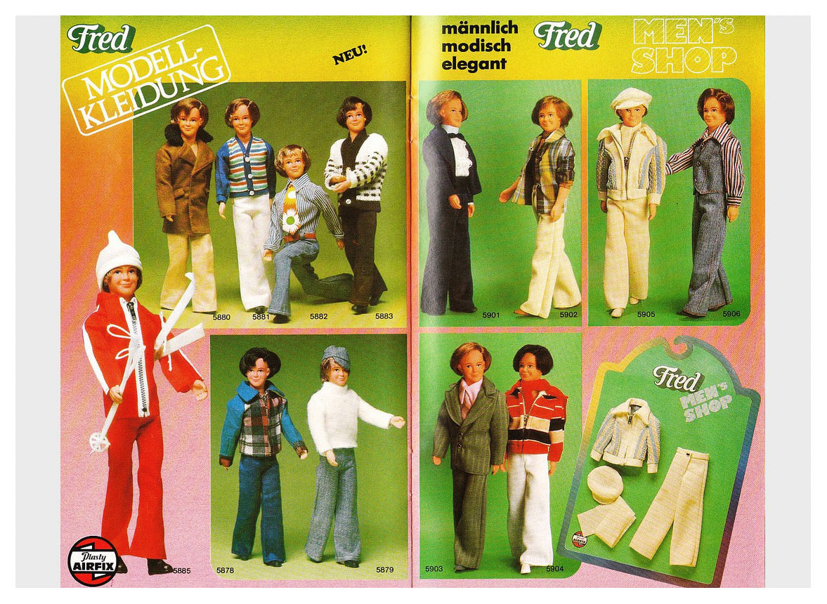 1976 Petra & Fred catalogue by Plasty/Airfix
