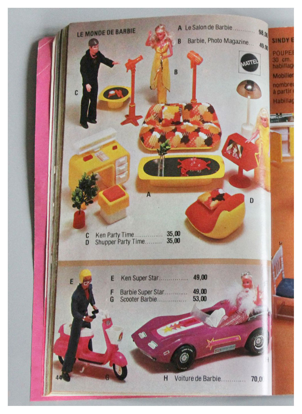 From 1978 French Jouets SAJ catalogue