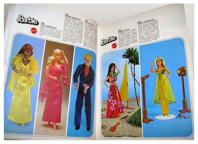 From 1978 Italian Mattel Toy catalogue