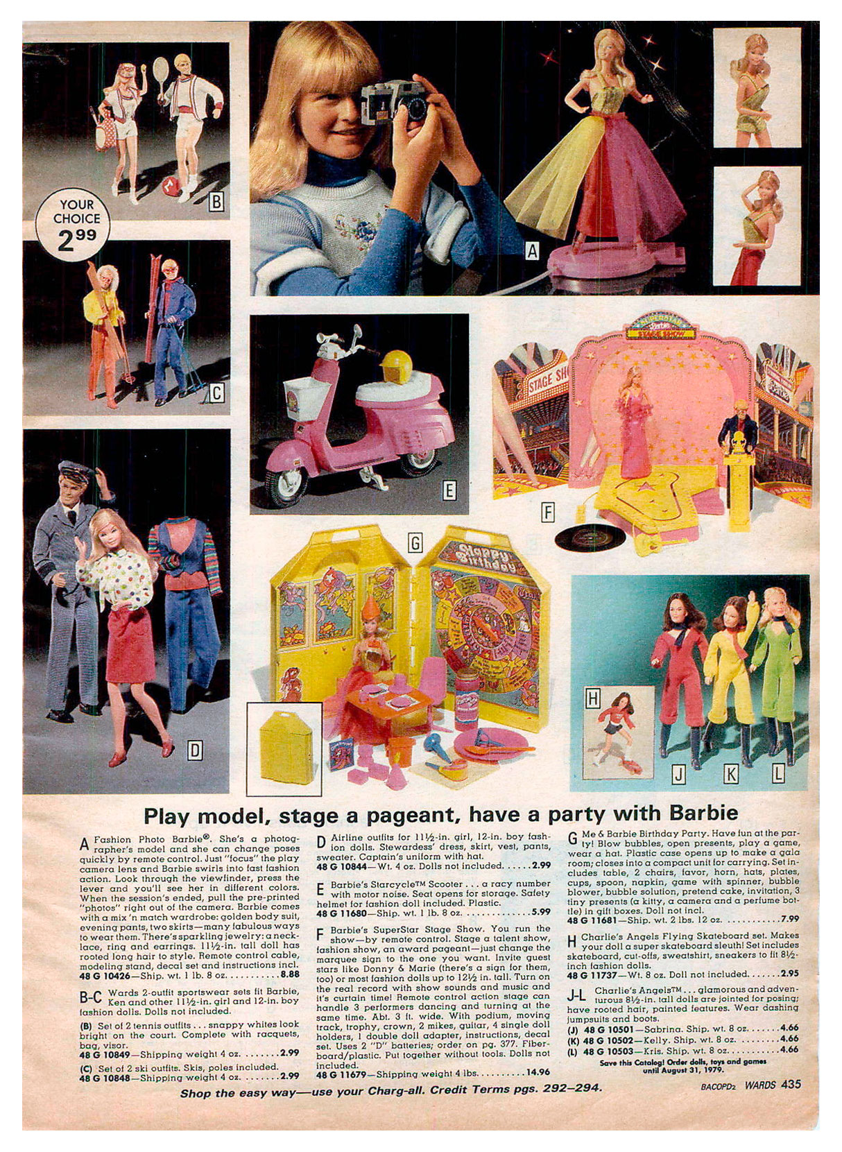 From 1978 Montgomery Ward Christmas catalogue