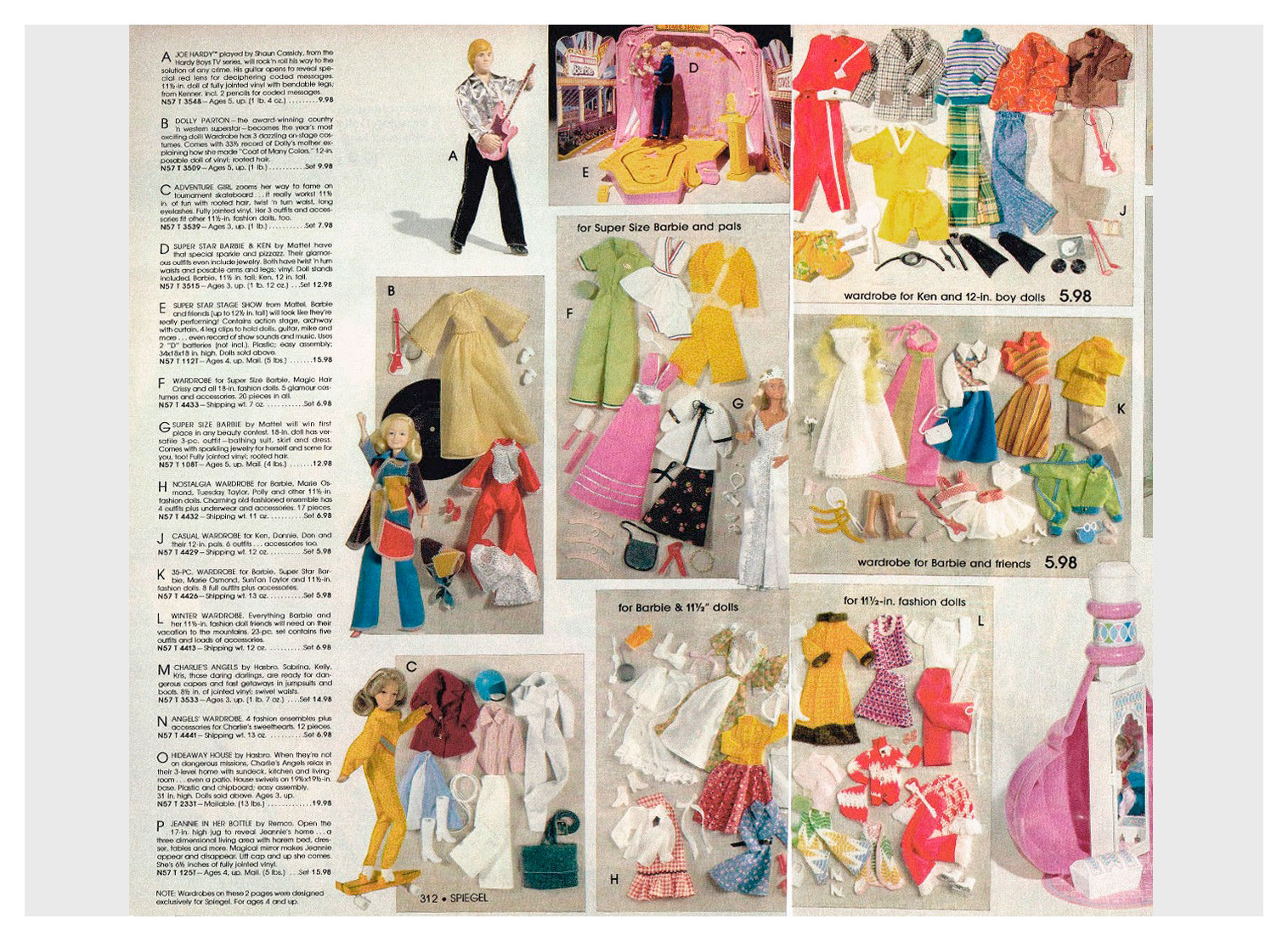 From 1978 Spiegel Christmas catalogue