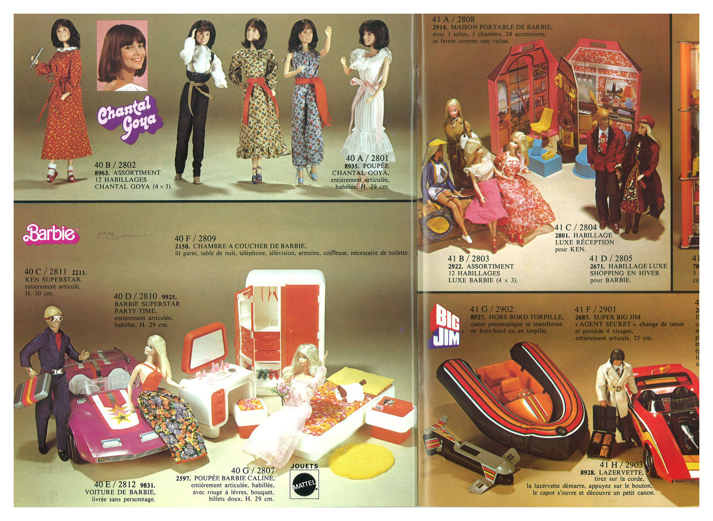 From 1979 French Difrajo (Distributeurs français du jouets) Noel catalogue