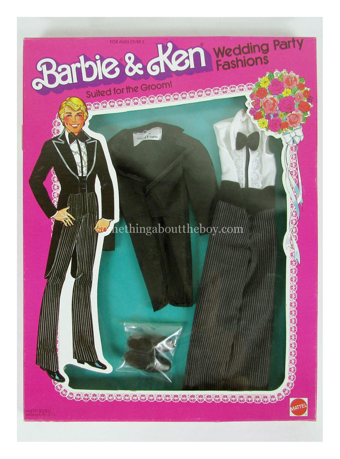 1980 Wedding Party Fashions #1418 (in 1981 version packaging)