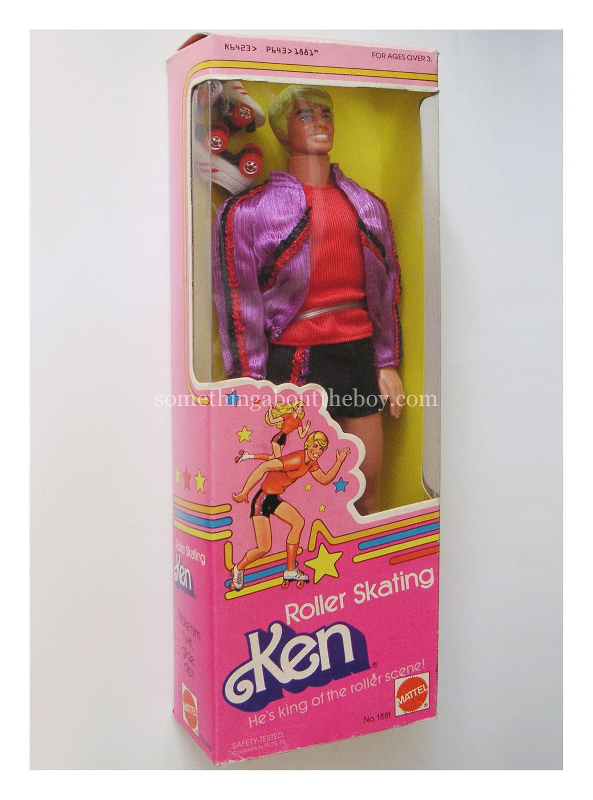 1980 #1881 Roller Skating Ken in original packaging