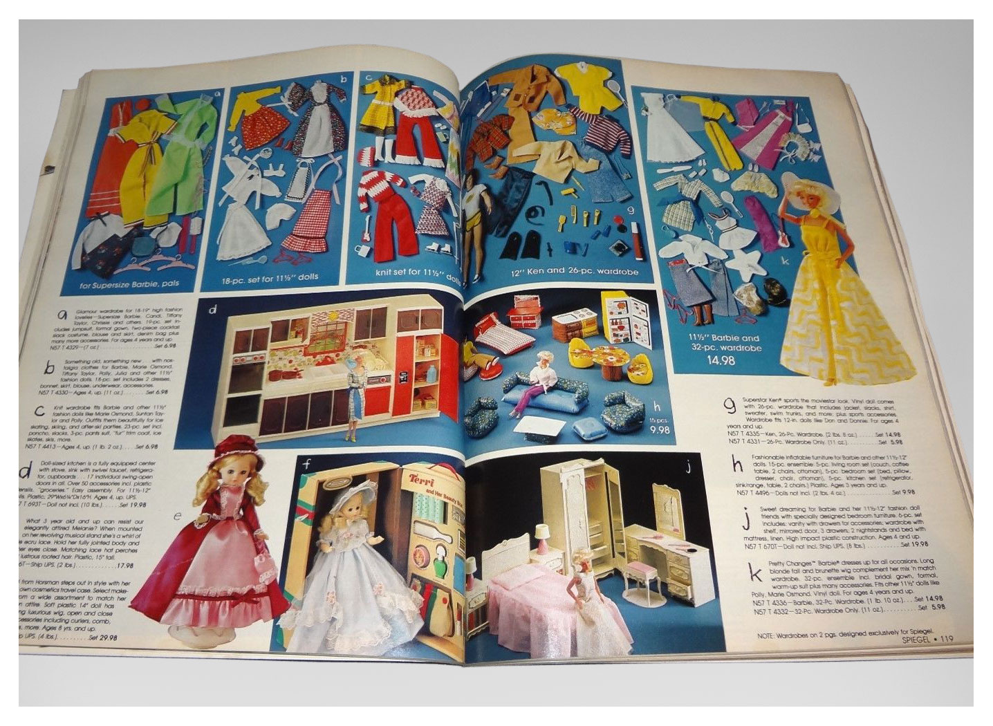 From 1980 Spiegel Christmas catalogue