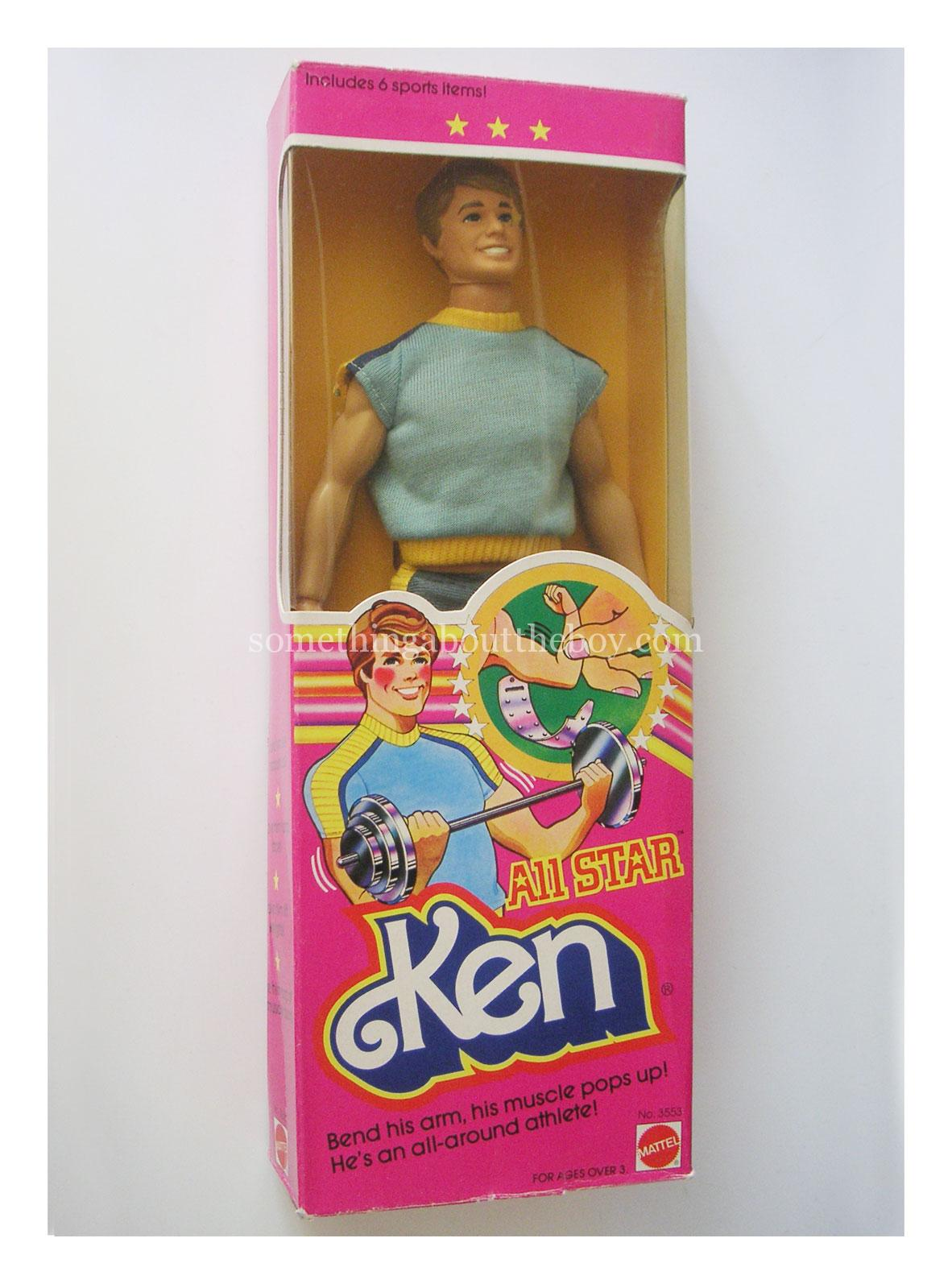 1982 #3553 All Star Ken in original packaging