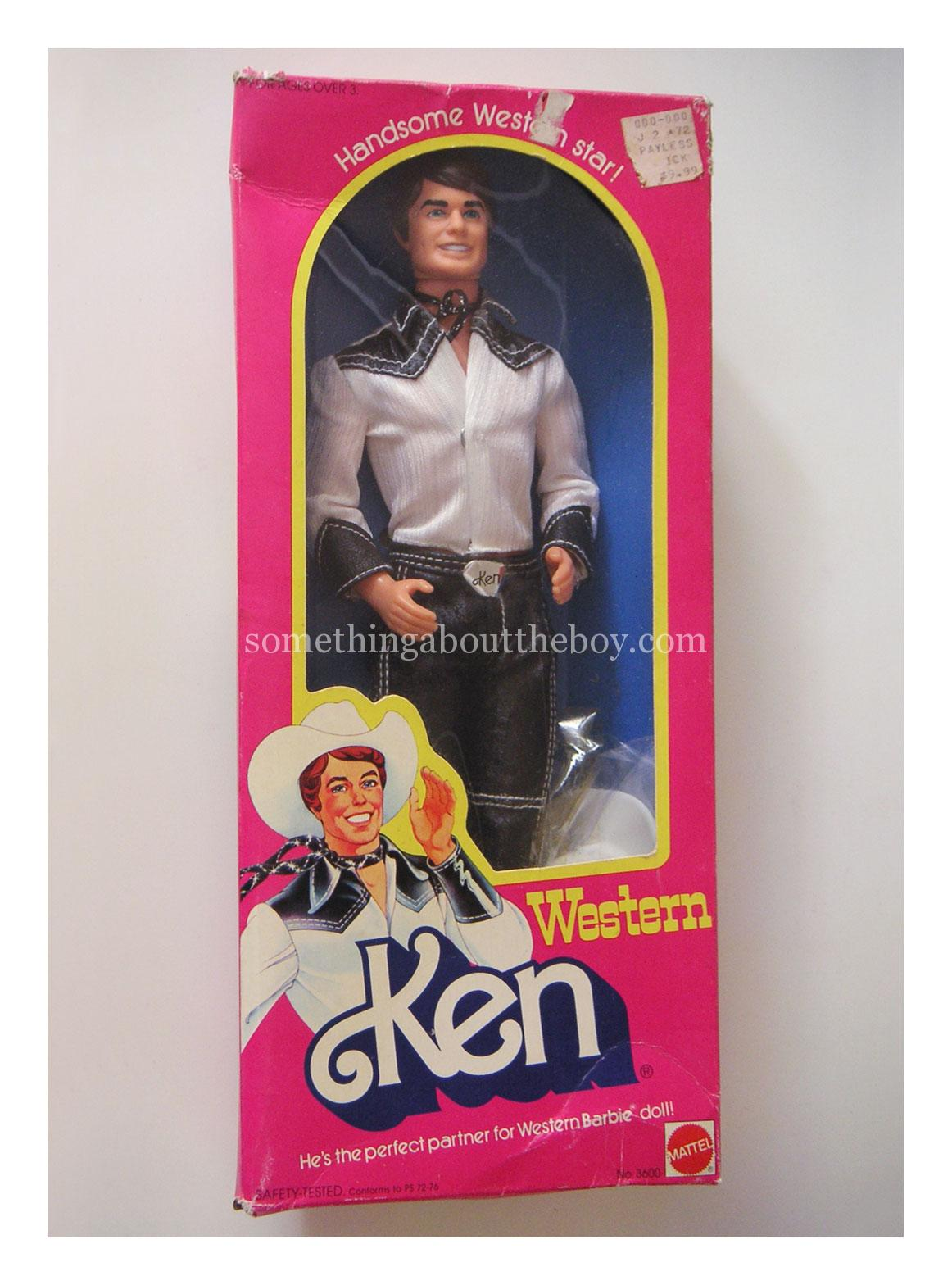 1981 #3600 Western Ken in original packaging