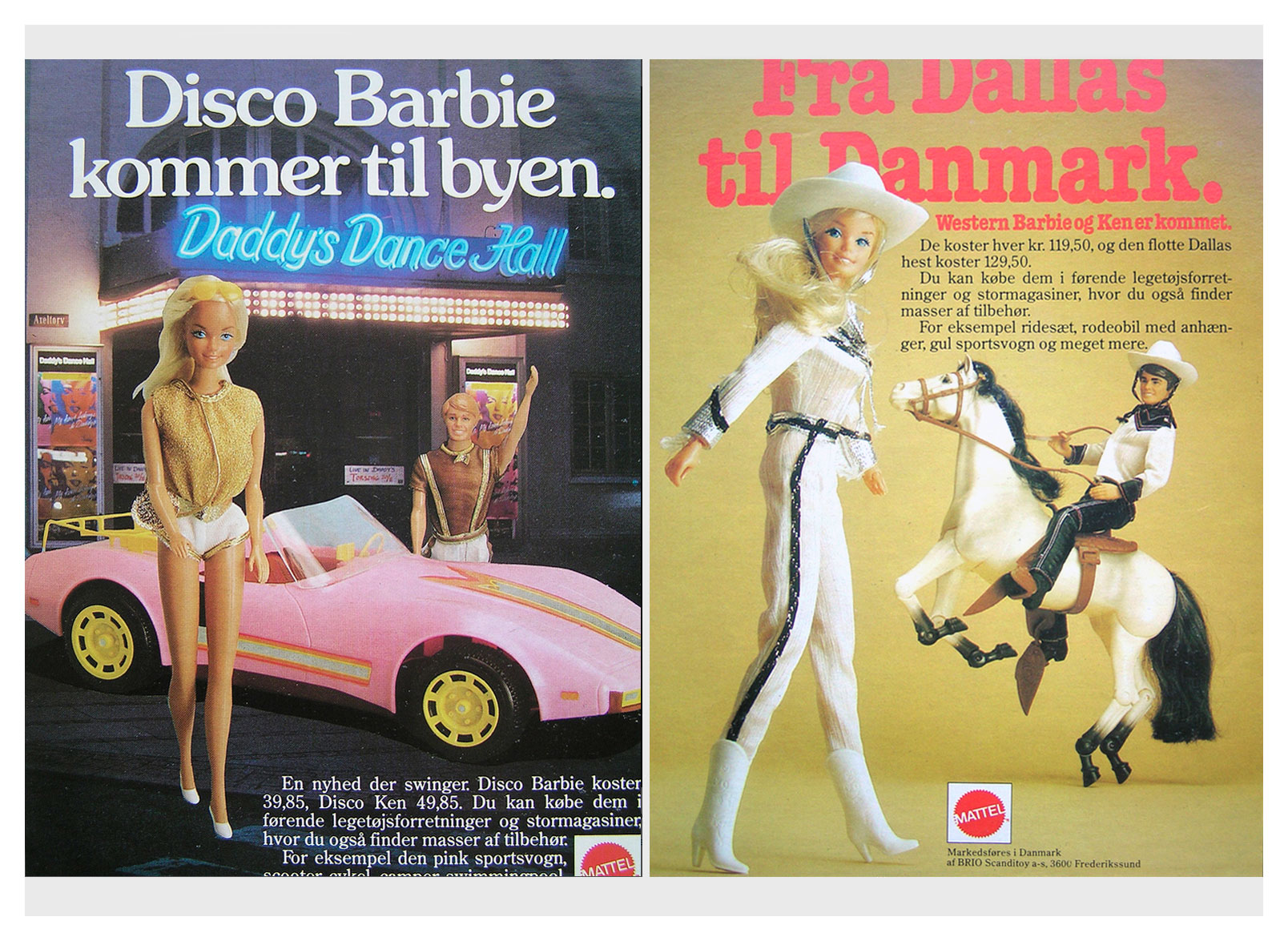 1981 Advertisements from Danish Donald Duck magazine