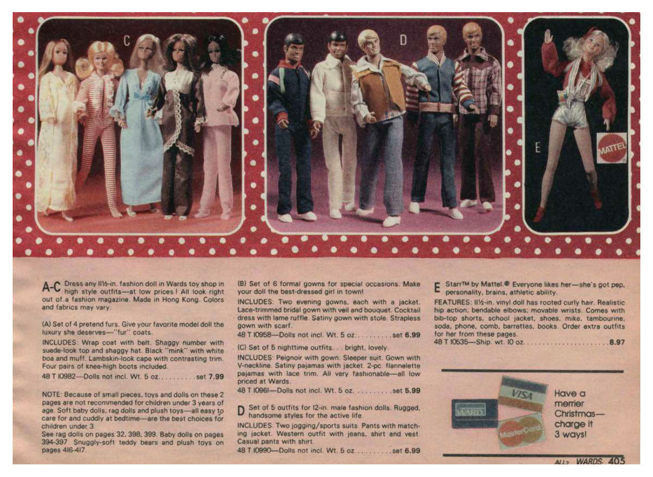 From 1981 Montgomery Ward Christmas catalogue
