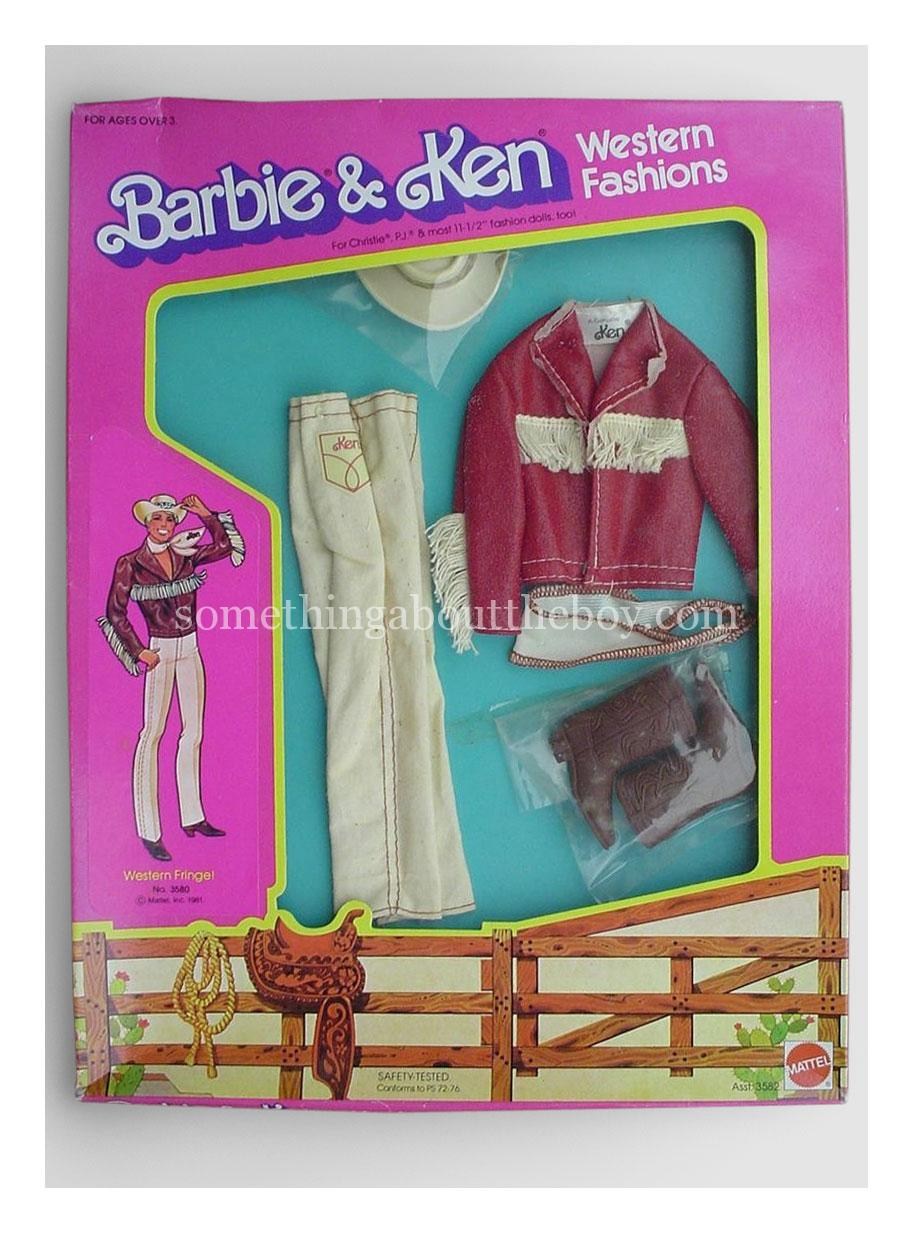 1982 Western Fashions #3580 in original packaging