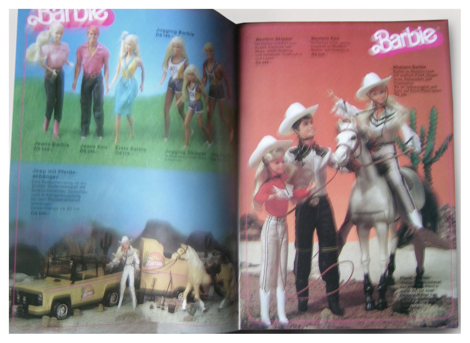 From 1982 Austrian Barbie Hit Parade booklet
