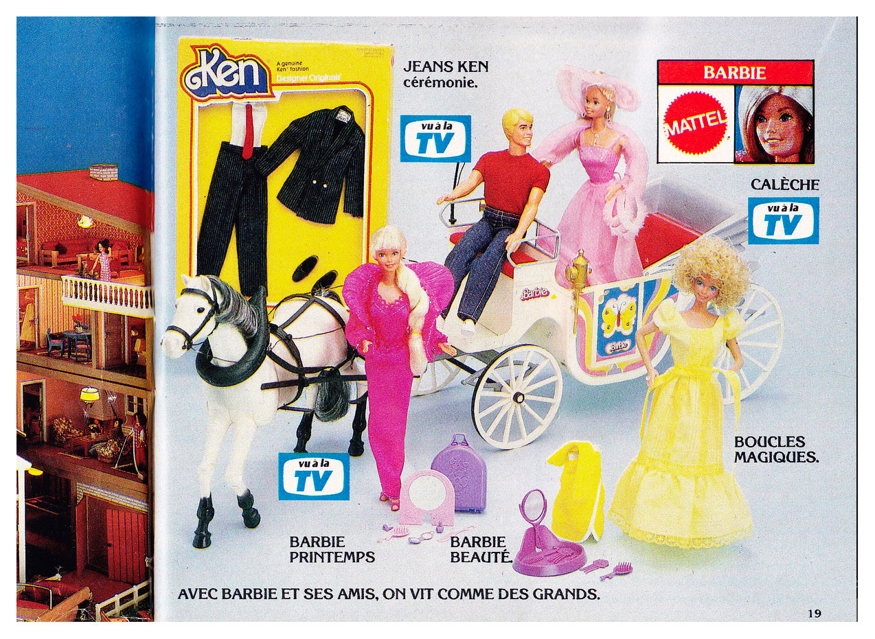 From 1982 French BHV Jouets 82 Circus catalogue