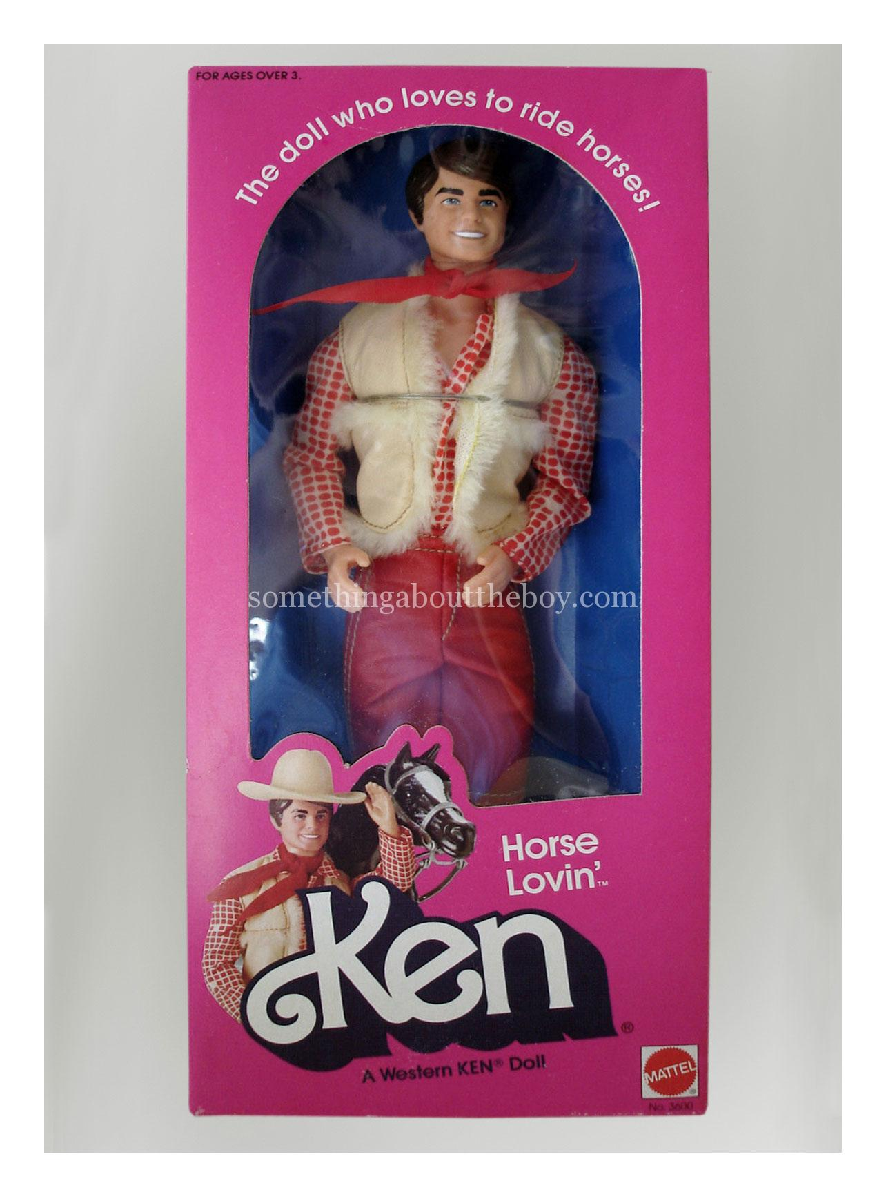 1983 #3600 Horse Lovin' Ken in original packaging