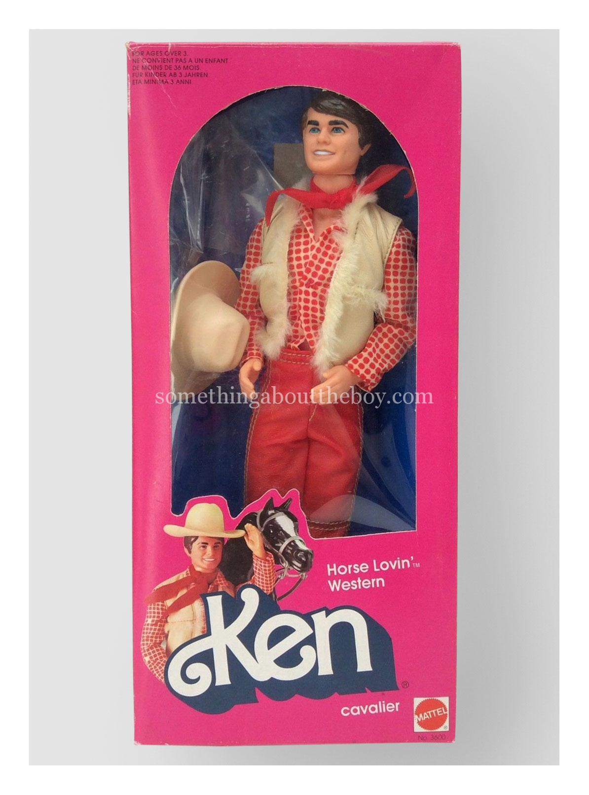 1983 #3600 Horse Lovin' Ken (European version)