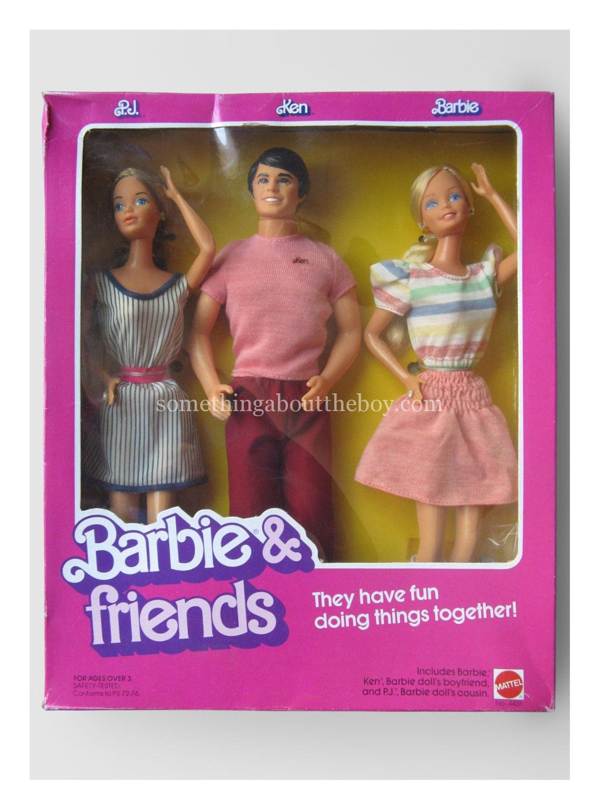 1983 #4431 Barbie & Friends in original packaging