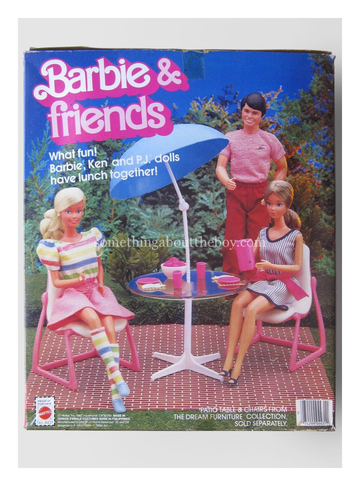 1983 #4431 Barbie & Friends original packaging