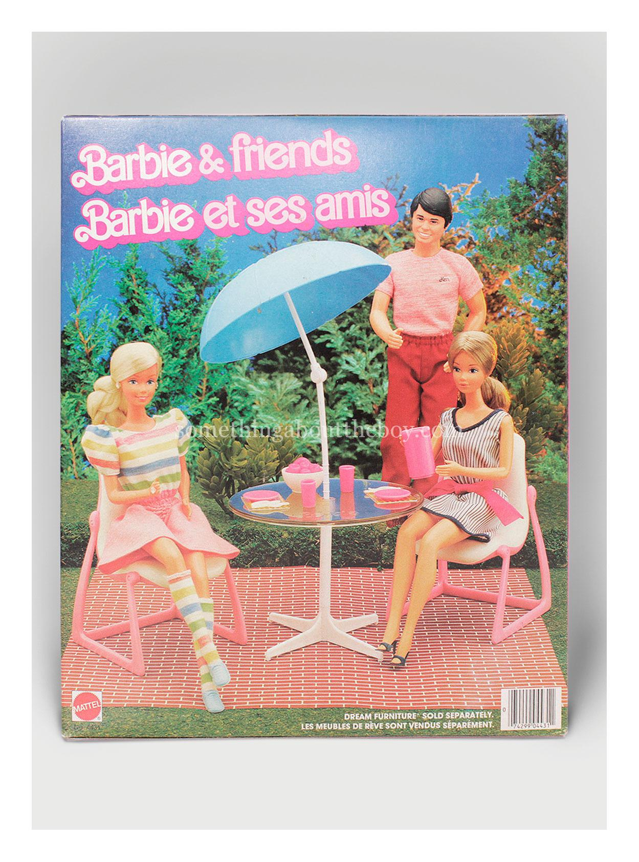 1983 #4431 Barbie & Friends (Canadian version)