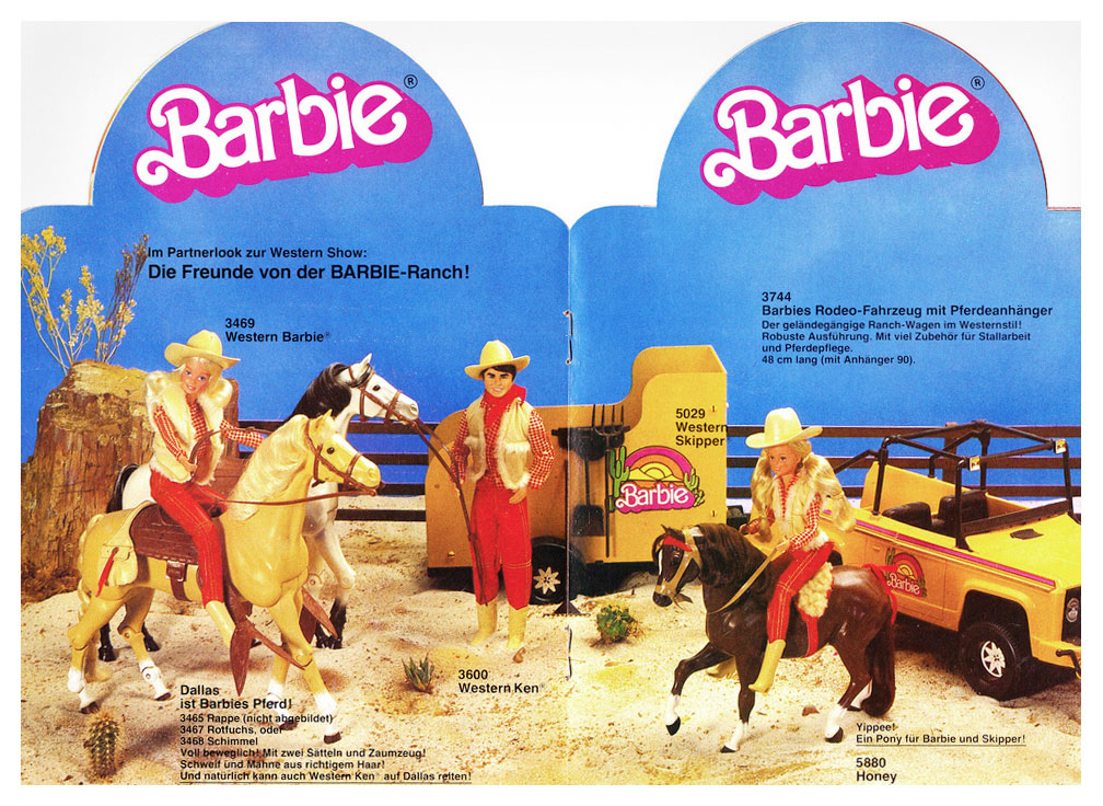 From 1983 German Barbie booklet