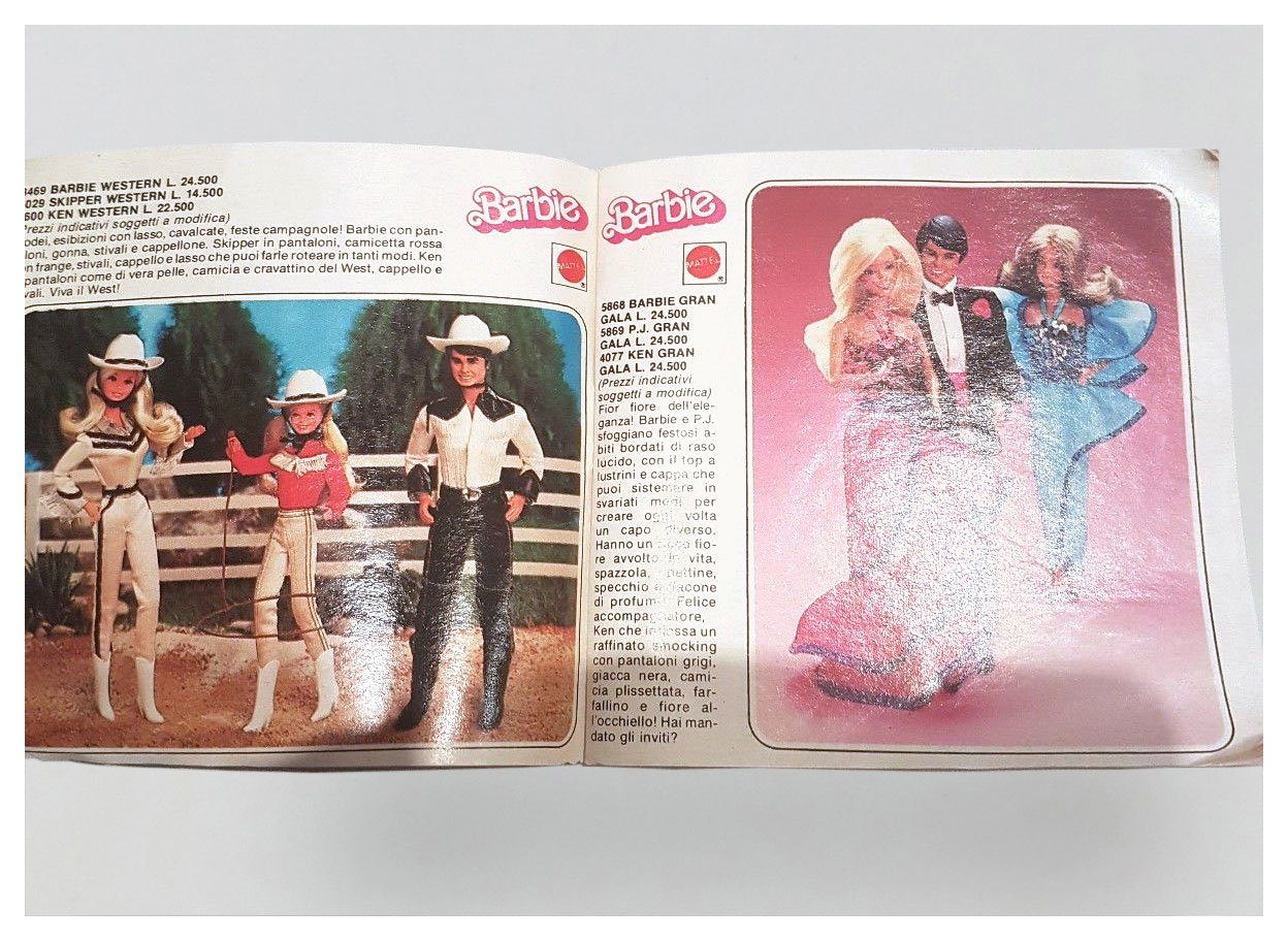 From 1983 Italian Barbie booklet